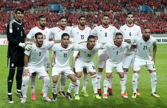 رنگ پیراهن ایران در بازی با مراکش مشخص شد
