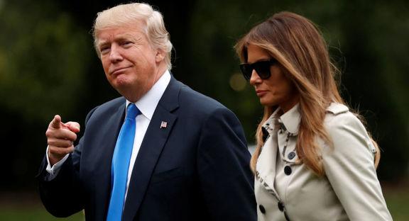 داستان جالب بوسیدن دست همسر ترامپ از سوی ملک سلمان