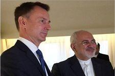 ظریف با همتای انگلیسی اش گفتگو کرد