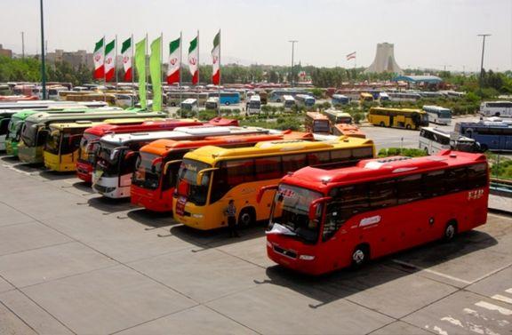 قیمت بلیط اتوبوس 20 درصد افزایش یافت