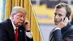 ترامپ و ماکرون بر سر لبنان رایزنی کردند