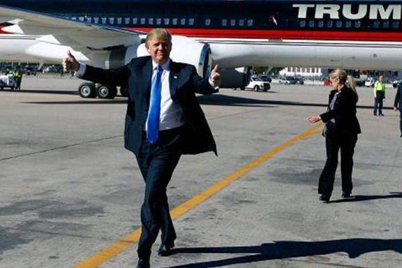 درخواست ترامپ برای سفر به تهران