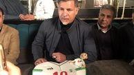 سخنان علی دایی در مراسم جشن تولد 49 سالگی اش + ویدئو
