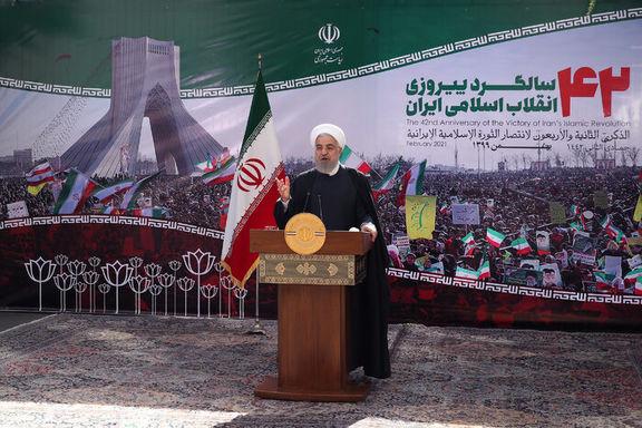حسن روحانی از ملت ایران طلب عفو کرد
