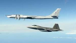 رهگیری بمبافکن های روسیه توسط جنگندههای آمریکا در نزدیکی آلاسکا