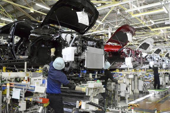 تولیدات صنعتی ژاپن برای دومین ماه متوالی افت کرد