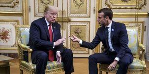 گفتکوی ترامپ و مکرون درباره ایران