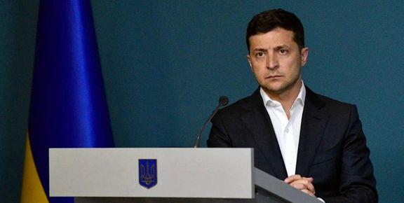 رئیس جمهور اوکراین بابت جعبه سیاه هواپیمای سقوط کرده اوکراینی ایران را تهدید کرد