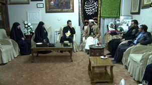 سفیر یمن به دیدار خانواده شهید سردار سلیمانی رفت