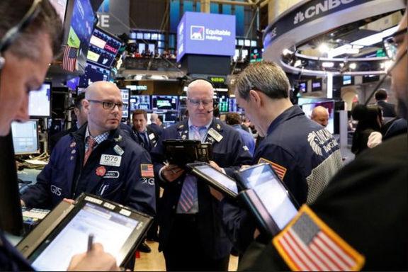 افت سهام آمریکا در پی بیانیه فدرالرزرو