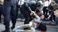 685 نفر در خیابان های مسکو به دلیل تجمعات غیرقانونی بازداشت شدند