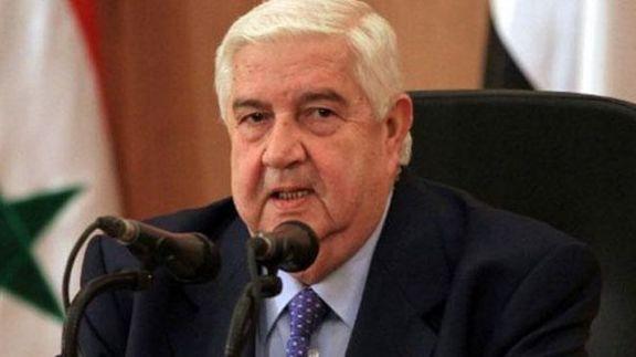 ولید المعلم: آمریکا نمی خواهد سوریه محور اصلی مقاومت در برابر اسرائیل باشد