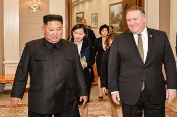 کیم جونگ اون: گفتگو با پمپئو فوق العاده بود / توافق بر سر دیدار ترامپ و کیم