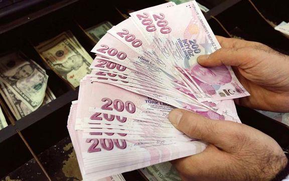 سقوط لیر ترکیه پس از تاکید اردوغان بر کاهش نرخ بهره
