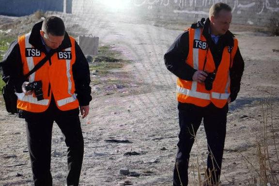کارشناسان کانادایی از محل سقوط هواپیمای اکراینی بازدید کردند