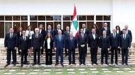 عکسی از 6 وزیر زن در کابینه لبنان