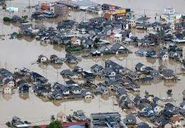 سیل در ژاپن جان 58 نفر را گرفت