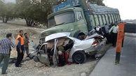 1800 مجروح از 26 اسفند ماه تا امروز در تصادفات جاده ای/ 49 درصد تصادفات به صورت واژگونی اتومبیل بوده است