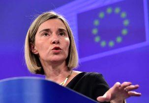 موگرینی: همکاری با عراق اولویت مهمی برای این اتحادیه اروپا است
