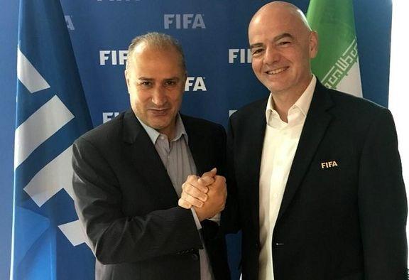 رئیس فیفا به زودی راهی تهران می شود