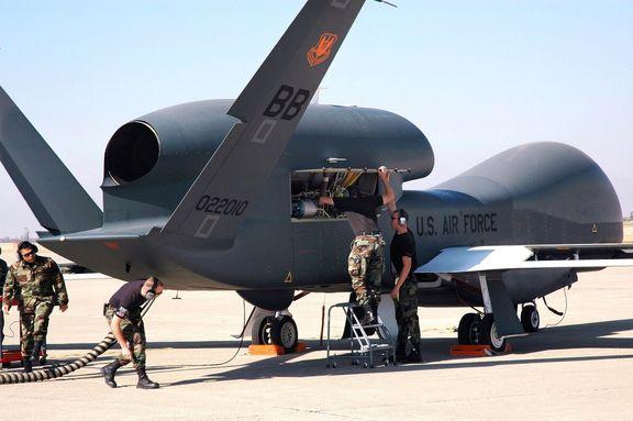 واکنش ارتش آمریکا به سرنگونی پهپاد جاسوسی «گلوبالهاوک» در ایران