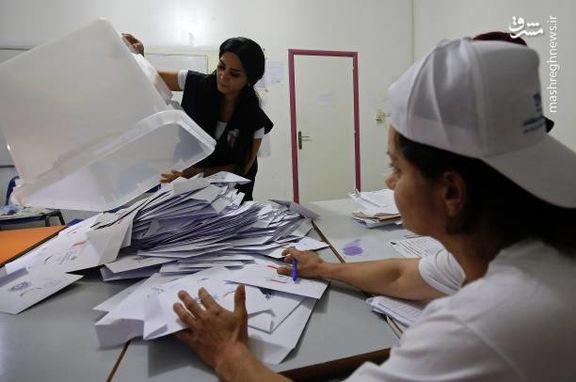 آرایش احزاب پارلمان لبنان بر اساس نتایج انتخابات