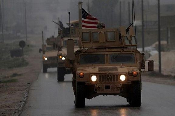 خروج آمریکاییها از شهر الشدادی سوریه