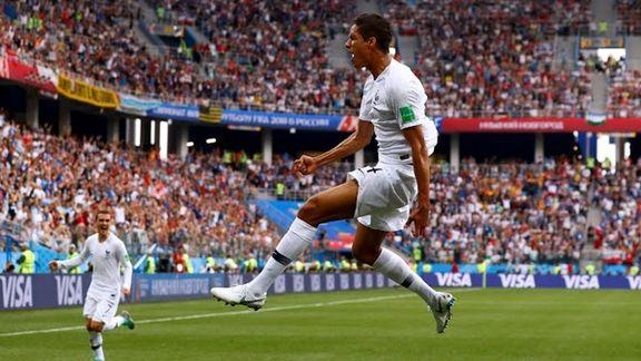 فرانسه اولین تیم صعود کرده به نیمه نهایی