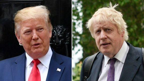 دونالد ترامپ بوریس جانسون را «ترامپ بریتانیا» خطاب کرد
