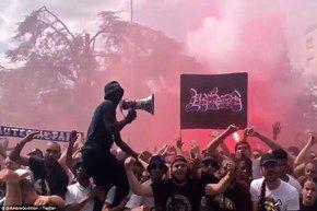 استقبال گسترده از بوفون در پاری سن ژرمن+ گزارش تصویری