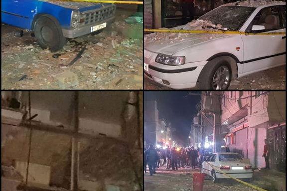انفجار مواد محترقه در یک ساختمان در محله «وجه آباد» نسیم شهر