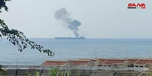 یک نفتکش ایرانی در آبهای بانیاس مورد حمله قرار گرفت
