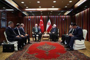 دیدار حسن روحانی با رجب طیب اردوغان / هیچ مانعی برای گسترش و تعمیق همکاری های دو کشور وجود ندارد