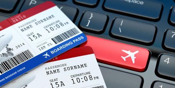نرخ بلیت پروازهای داخلی برای ایام نوروز