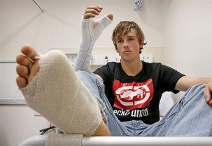 انگشت پا به جای شست دست گمشده پیوند زده شد!