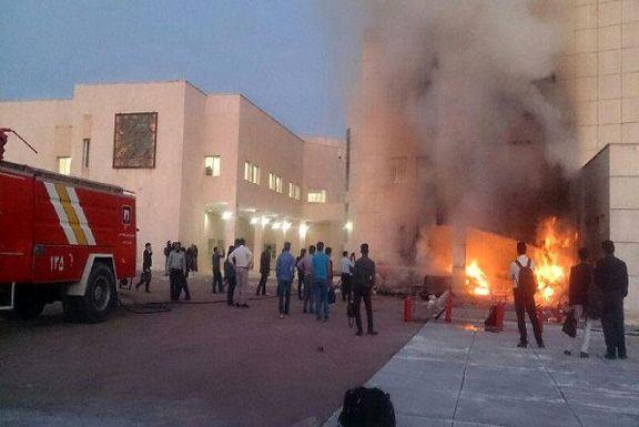 اختلاف خانوادگی مغازهای در بافق را به آتش کشید