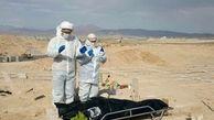 تصاویری از دفن درگذشتگان ناشی از ویروس کرونا در تبریز + عکس