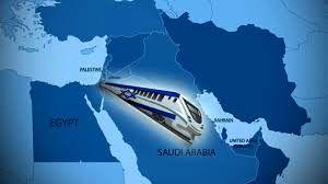 رژیم صهیونیستی خط راه آهن جدید می سازد/از تل آویو تا خلیج فارس