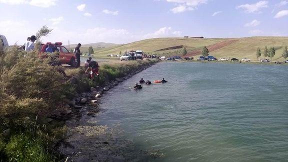 غرق شدن یک جوان در بندخاکی تفت