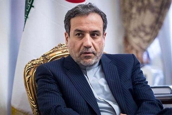 عراقچی پیام کتبی دکتر روحانی را تقدیم آبه شینزو کرد