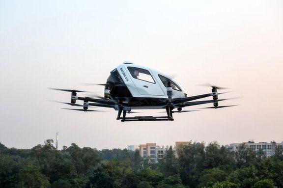 راه اندازی تاکسی پرنده /تاکسی های پرنده در چین راه اندازی شدند