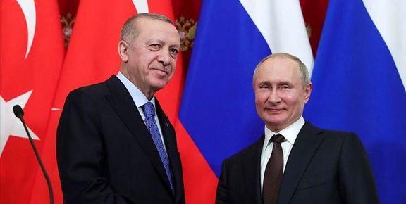 اردوغان در مورد لیبی و ادلب با پوتین گفتگوی تلفنی کرد