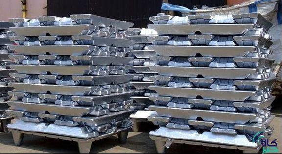 افزایش ۱۴.۵ دلاری قیمت آلومینیوم در بورس لندن