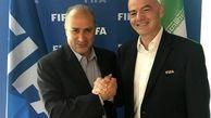 هدف اینفانتینو رئیس فیفا از سفر با ایران چیست؟