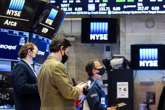 رشد هفتگی سهام داو جونز و اساندپی