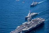 اولین رزمایش دریایی 6 روزه  آمریکا، ژاپن، کره جنوبی و استرالیا در غرب اقیانوس آرام