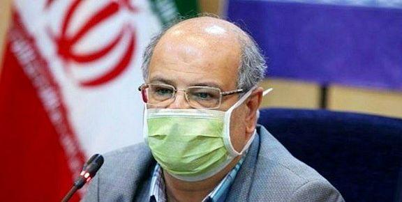 زالی: 648 بیمار کرونایی در 24 ساعت گذشته در بیمارستانهای استان تهران بستری شدند
