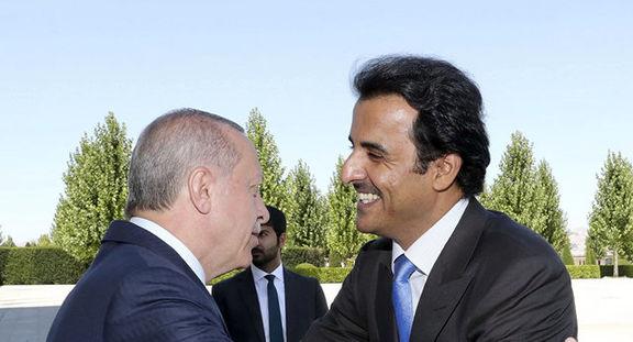 گفتگوی تلفنی امیرقطر با رئیس جمهور ترکیه