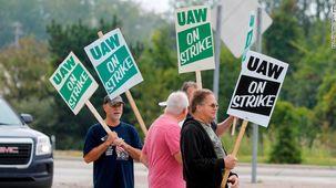 اعتصاب 50 هزار نفری کارگران علیه جنرال موتورز در 19 ایالت
