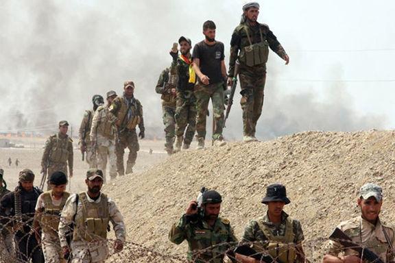 داعش مورد هدف الحشدالشعبی قرار گرفت
